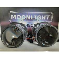 СВЕТОДИОДНЫЕ BI-LED ЛИНЗЫ Moonlight EVO Bi-LED 2.5 -4500к