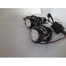 Светодиодные линзы   MINI BI-LED 1.8 (КОМПЛЕКТ)+МАСКИ