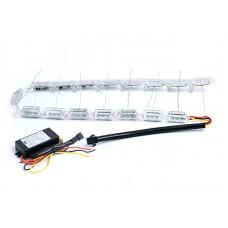 Дневные Ходовые (DRL) Огни - CRYSTAL c поворотом - 60 см.