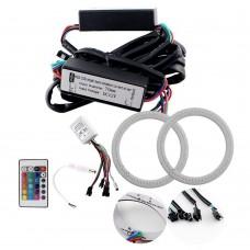 Ангельские Глазки COB 95мм. RGB + IR контроллер