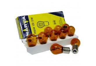 Лампа накаливания NARVA PY21W Amber Standart 12V 21W (1 шт.)