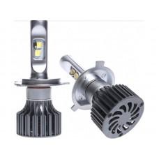 LED лампа AMS EXTREME POWER-F H4 H/L 5000K