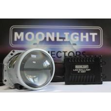 """Светодиодная линза MOONLIGHT Premium Bi-Led Lens 3"""" 9-32v"""