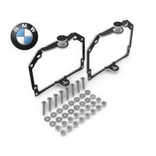 ПЕРЕХОДНАЯ РАМКА ДЛЯ АДАПТИВНЫХ ФАР BMW 1, X1 ПОД МОДУЛЬ HELLA 3R (КОМПЛЕКТ, 2ШТ)