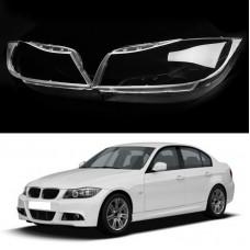 Стекло фары BMW 3 E90 E91 (2004-2013) правое