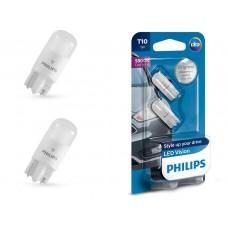 Автомобильные светодиоды PHILIPS LED Vision T10 (W5W) 5500 Кельвинов (2 шт.)