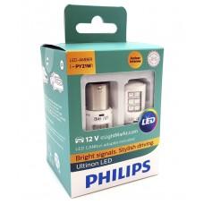 Philips Ultinon LED PY21W  (2 шт. + обманки) 11498ULAX2