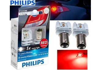LED лампа Philips X-tremeVision LED P21/5W 12V 12899RX2