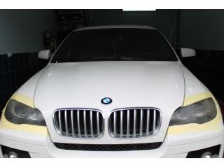 Шлифовка,полировка и оклейка пленкой BMW X6