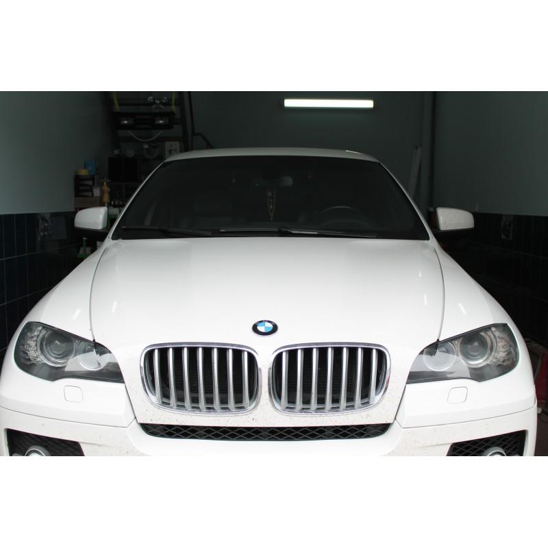 Шлифовка и полировка фар BMW X6
